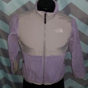 The North Face girls fleece jacket M